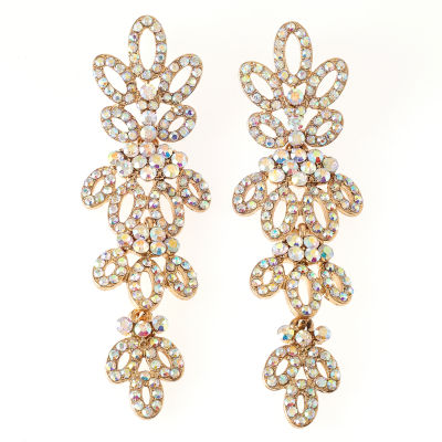 Bijoux Bar Multi Color Drop Earrings