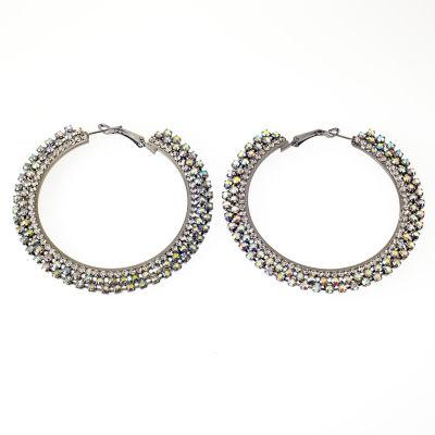 Bijoux Bar Multi Color Hoop Earrings