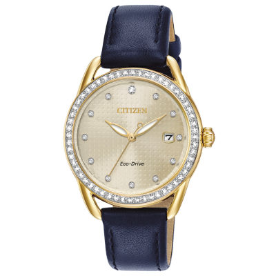 Drive from Citizen Womens Blue Strap Watch-Fe6112-09p