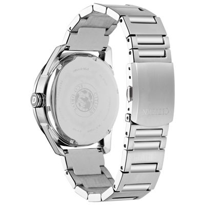 Drive from Citizen Mens Silver Tone Bracelet Watch-Bu4020-52l