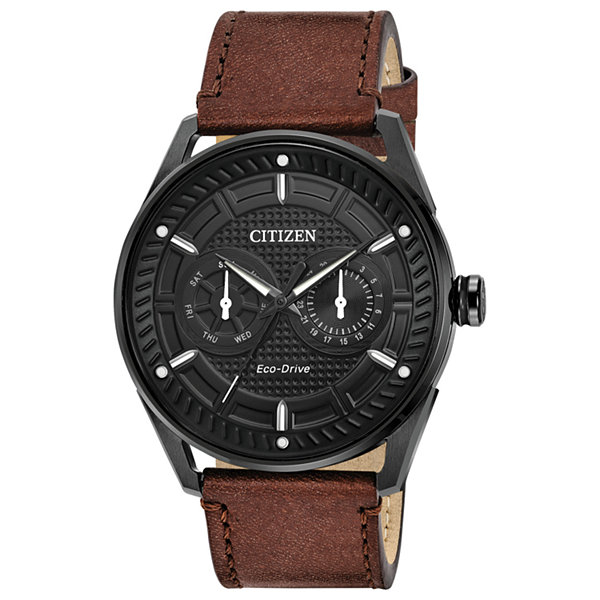 Drive from Citizen Mens Brown Strap Watch-Bu4025-08e