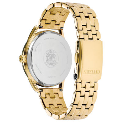 Drive from Citizen Womens Gold Tone Bracelet Watch-Fd2052-58a