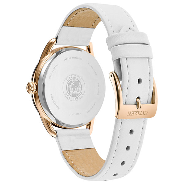 Drive from Citizen Womens White Strap Watch-Fd2053-04a