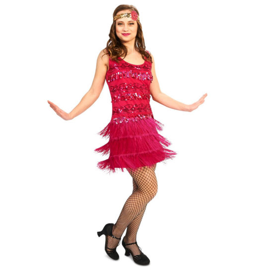 20s Vintage Flapper 2-pc. Dress Up Costume Womens