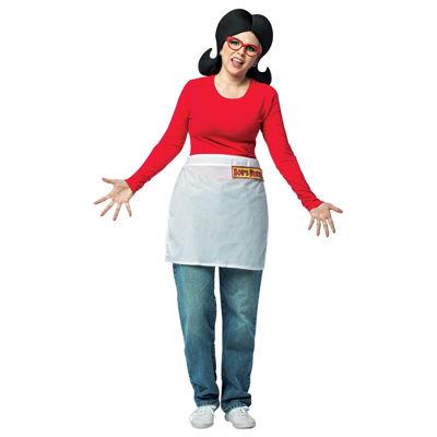Bobs Burgers 4-pc. Dress Up Costume Womens