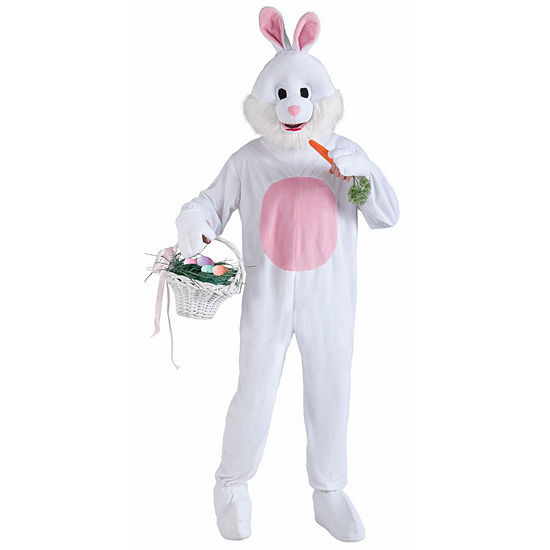 Bunny Mascot Adult Costume (One Size) Unisex Adult Costume