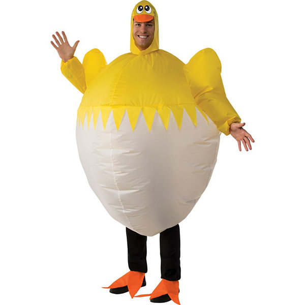 Chick Inflatable Adult Costume - One-Size