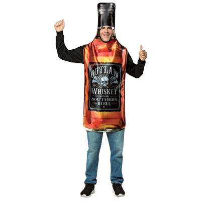 Get Real Whiskey Bottle Dress Up Costume Mens