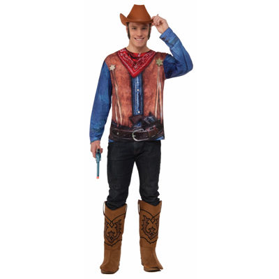 Insta Cowboy 2-pc. Dress Up Costume Mens