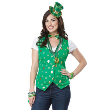 Lucky Lady 5-pc. Dress Up Costume Womens