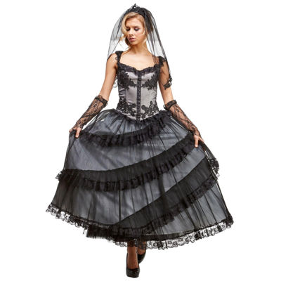 Mourning Bride 5-pc. Dress Up Costume Womens