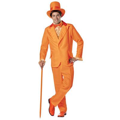 Orange Goofball 6-pc. Dress Up Costume Mens