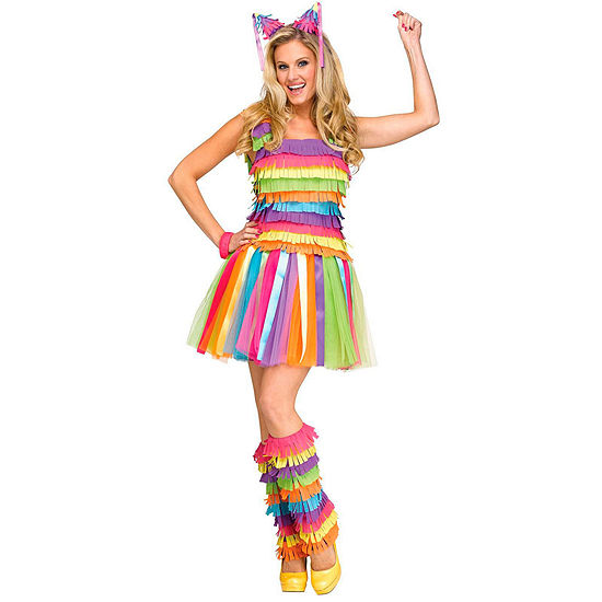 Party Pinata 4-pc. Dress Up Costume Womens