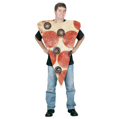 Pizza Slice Dress Up Costume Unisex