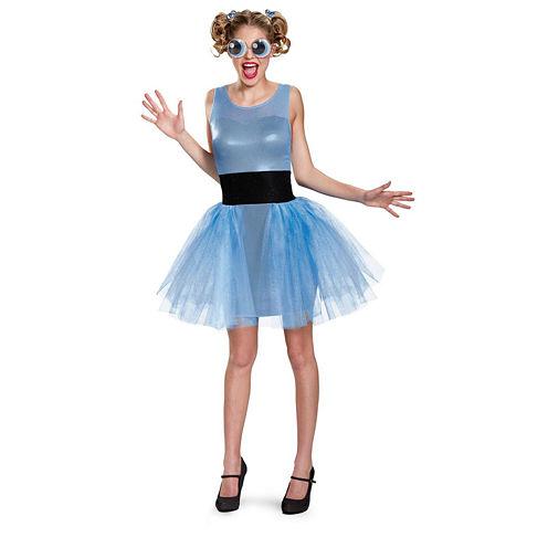 Powerpuff Girls Bubbles 3-pc. Dress Up Costume Womens