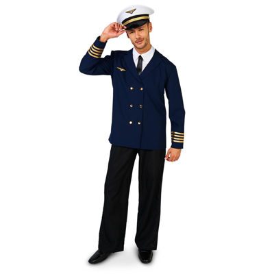 Retro Airline Captain Adult Costume