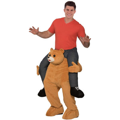 Ride a Bear Adult Unisex Costume - One Size Fits Most