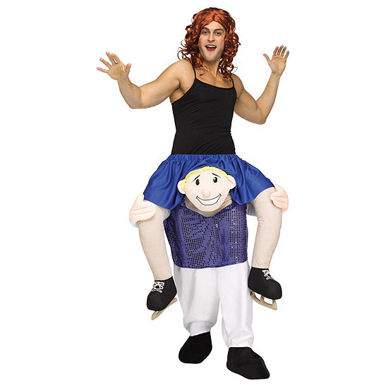 Ride A Figure Skater Adult Costume One Size Fits Most