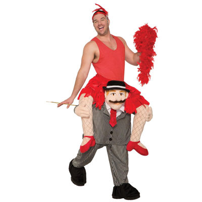 Ride a Flapper Adult Costume - One Size Fits Most