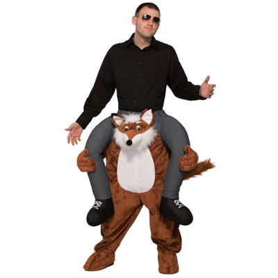 Ride a Fox Adult Costume - One Size Fits Most