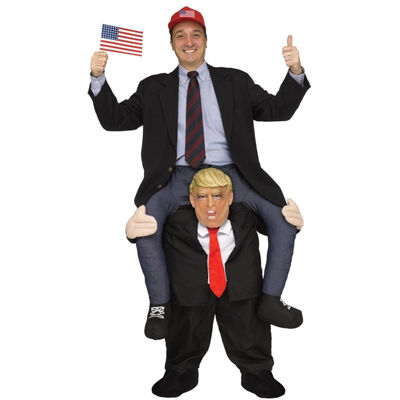Ride a President Adult Costume - One Size Fits Most