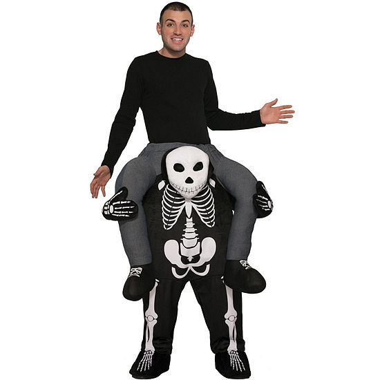 Ride a Skeleton Adult Costume - One Size Fits Most