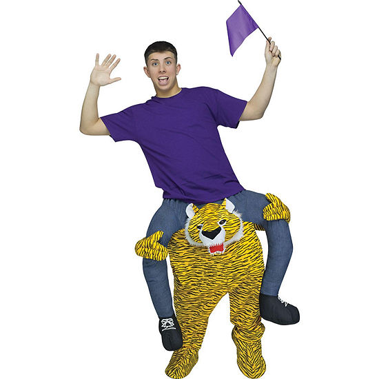 Ride a Tiger Adult Costume - One Size Fits Most