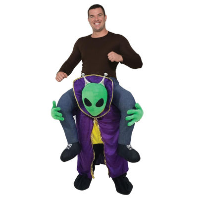 Ride an Alien Adult Costume - One Size Fits Most