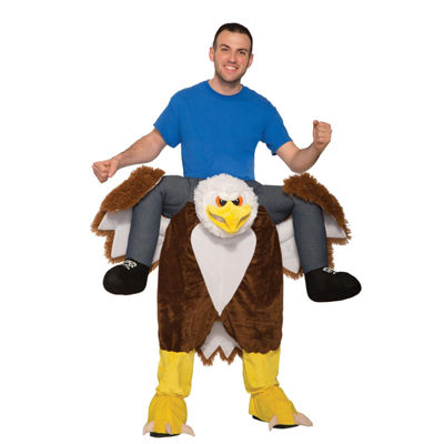 Ride an Eagle Adult Costume - One Size Fits Most