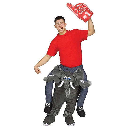Ride an Elephant Adult Costume - One Size Fits Most