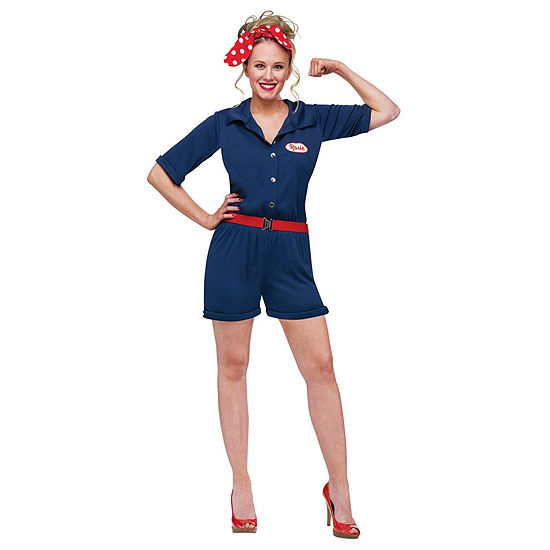 Rosie The Riveter Adult Costume