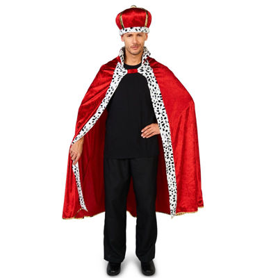 Royal Majesty King Adult Costume - One Size Fits Most