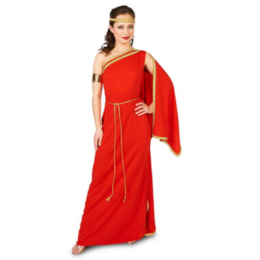 Royal Ruby Toga 4-pc. Dress Up Costume Womens