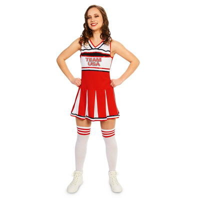 Sassy Team Cheer Dress Up Costume Womens
