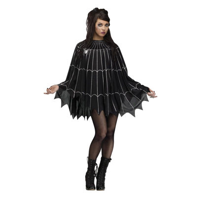 Silver Spider Web Dress Up Costume Womens