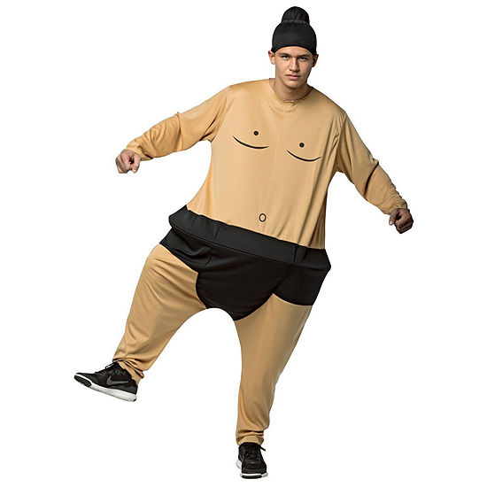 Sumo Hoopster Adult Costume- One Size Fits Most