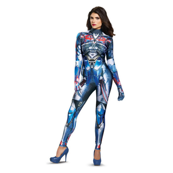 Transformers - Optimus Prime Female Adult Bodysuit