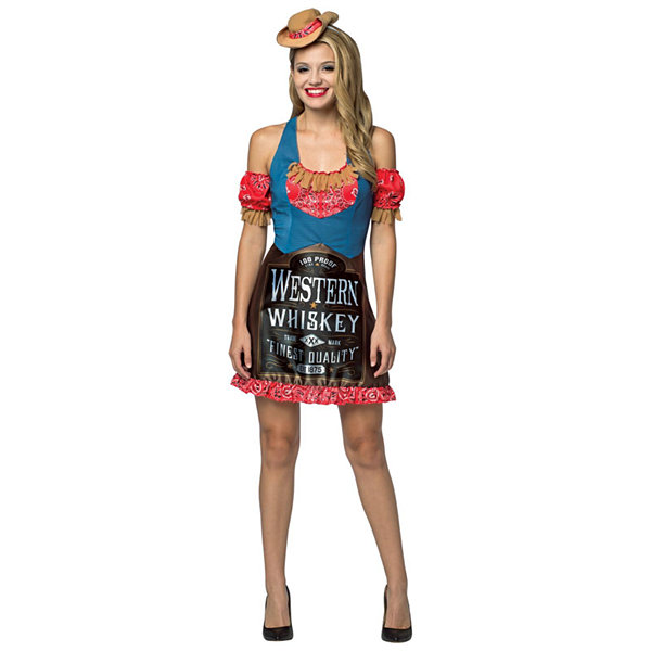 Whiskey Dress Adult Womens Costume