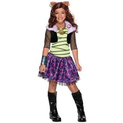 Monster High 4-pc. Dress Up Costume Girls