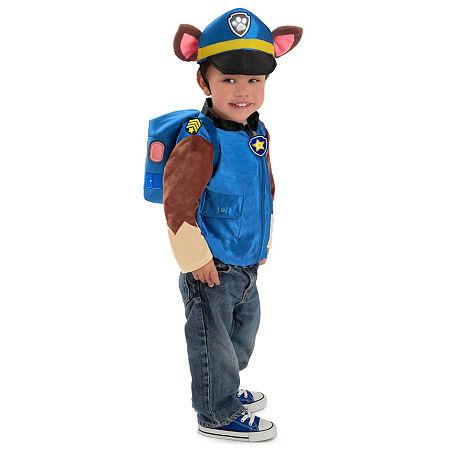 Paw Patrol Chase Child Costume, 6 , Blue