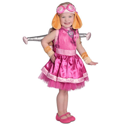 Buyseasons Paw Patrol 5-pc Dress Up Costume Girls