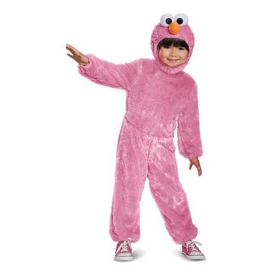 Pink Elmo Comfy Fur Toddler Costume