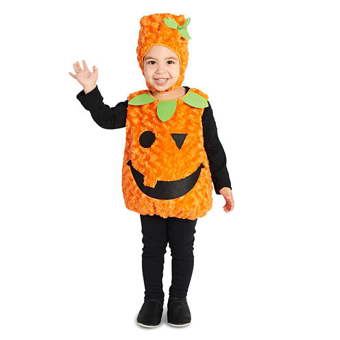 Plush Belly Pumpkin Child Costume