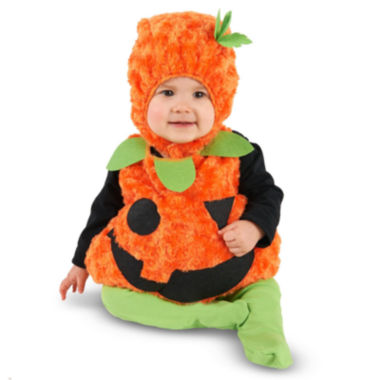 Plush Belly Pumpkin Infant Costume