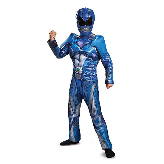 Power Rangers:  Blue Ranger Classic Muscle Child Costume