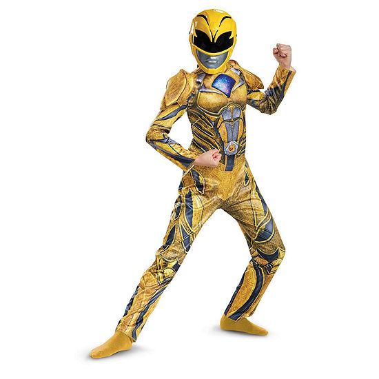 Power Rangers:  Yellow Ranger Deluxe Child Costume