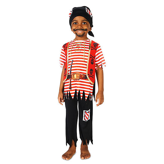 Printed Pirate Matey Child Costume