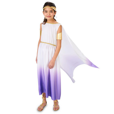 Purple Passion Greek Goddess Child Costume
