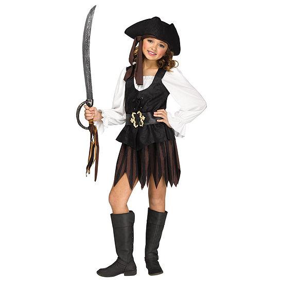 Rustic Pirate Maiden Child Costume