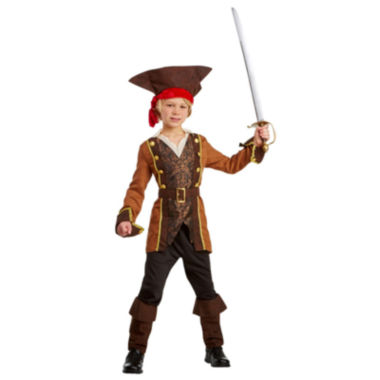 Salty Sea Captain Child Costume